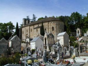 Lamalou les Bainsの全景
