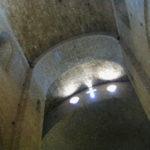 St.Guilhem le Desertの交叉部天井