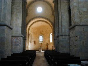 St.Andre de Soredeの身廊