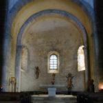 St.Andre de Soredeの内陣