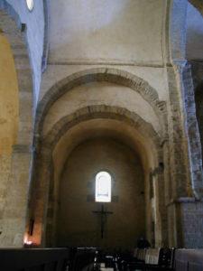 St.Andre de Soredeの翼廊