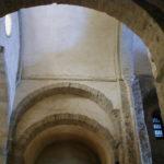 St.Andre de Soredeの交差部天井