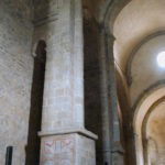 St.Andre de Soredeの側廊