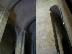 St.Andre de Soredeの身廊天井