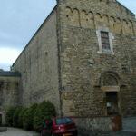 St.Andre de Soredeの教会堂正面