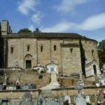 Lamalou les Bainsの教会堂側面