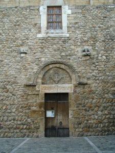 St.Andre de Soredeの扉口
