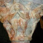 Serraboneの柱頭彫刻
