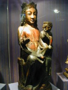 Bboule d'Amontの彫像