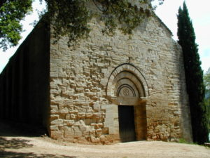 Lamalou les Bainsの教会堂正面