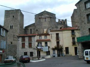Arles sur Techの全景