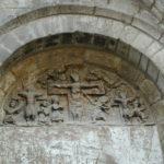 St.Pons de Thomieresのタンパン