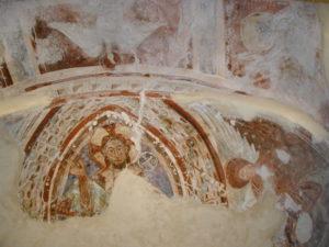 Les Clusesの壁画