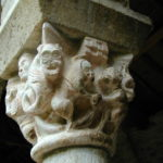 Le Canigouの柱頭彫刻