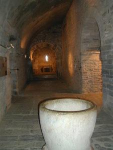 Serraboneの側廊