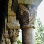 Cuxaの柱頭彫刻