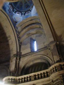 Avignonの内陣天井