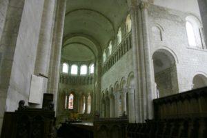 St.Benoit sur Loire 内陣