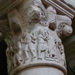 St.Genouno柱頭彫刻