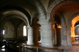 St.Benoit sur Loire クリプト