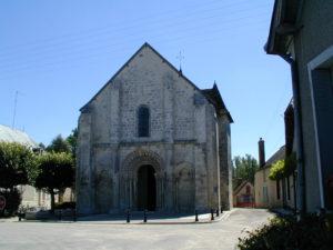 Paulnayの教会堂正面