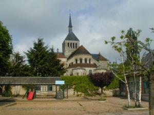 St.Benoit sur Loire 後背部