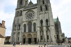 Chartres 西正面