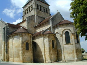 La Celle Bruereの後背部