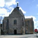 Meobecqの教会堂正面