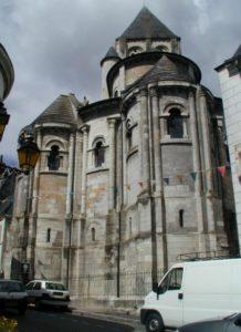 St.Aignan sur Cher 後背部