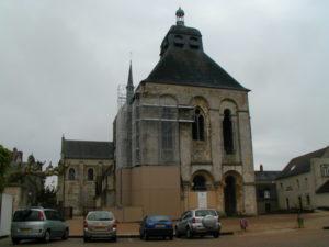 St.Benoit sur Loire 教会堂正面