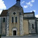 Meobecqの教会堂側面