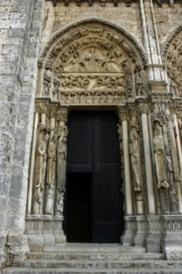 Chartres 左扉口