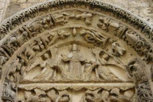 Chartres 左扉口 タンパン