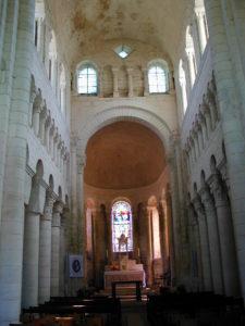 St.Genouの身廊