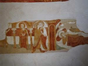 Vesdunの壁画