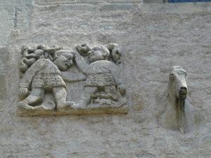 La Celle Bruereの彫刻