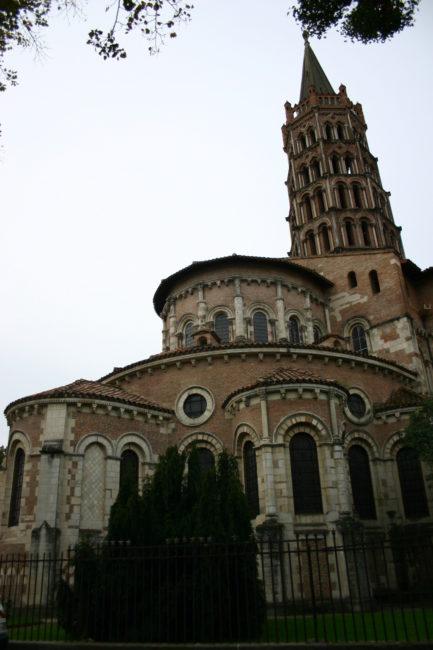 Toulouseの後背部