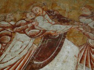 Nohant-Vicqの壁画