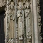 Chartres 人像円柱