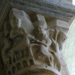 St.Genouの柱頭彫刻