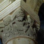 Neuvy St.Sepulcreの柱頭彫刻