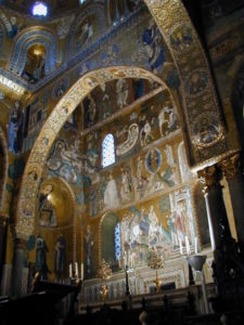 Palermo / Cappella Palatina モザイク