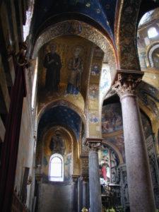 Palermo / Chiese della Martorana 側廊