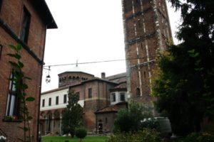 Milano 教会堂側面