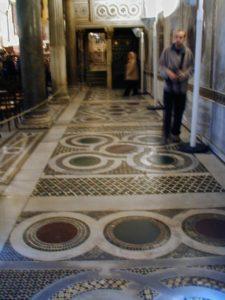 Palermo / Cappella Palatina 床モザイク