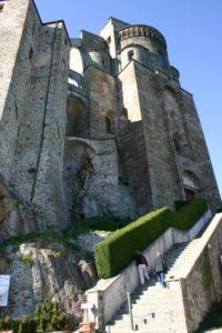 Sacra di San Michele 後背部
