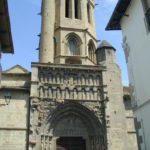 Sanguesa 教会堂正面