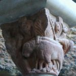 San Juan de la Pena 柱頭彫刻