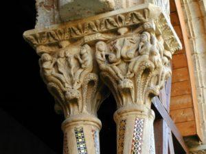 Monreale 柱頭彫刻